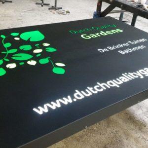 Dutchqualitygarden Opdracht metaalbewerking Framedprops Constructie opdracht logo visitekaart foto 2